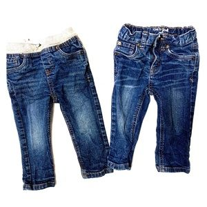 Bundle of 2 cat and jack jeans